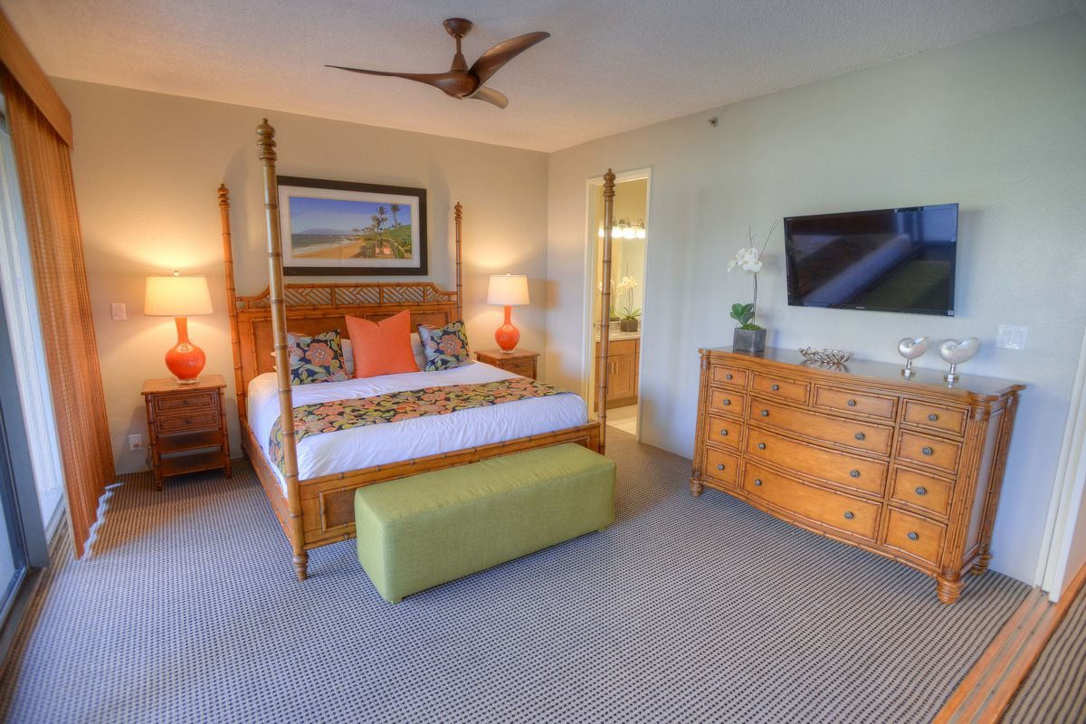 Sands of Kahana Bedroom, West Coast Maui, Maui Vacation, Condo Units